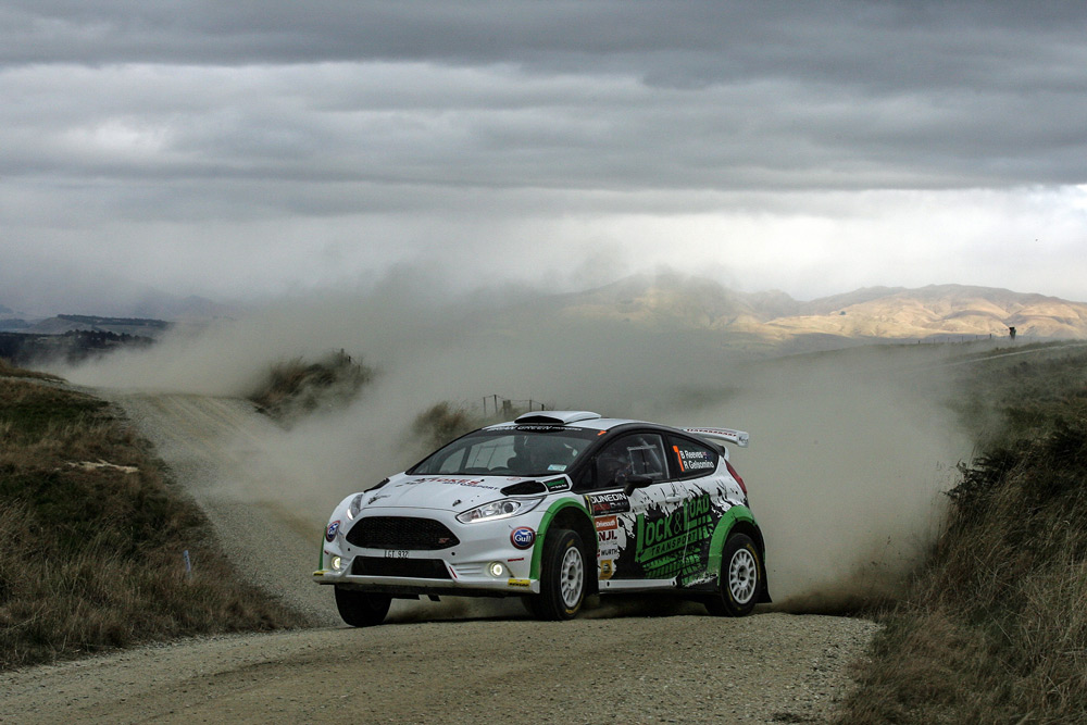 Brendon Reeves and Rhianon Gelsomino at Bobbing Creek, SS13, Rally Otago 2019