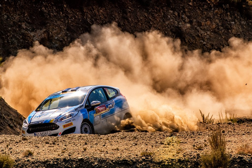 Dave Holder and Jason Farmer competing in the JWRC Rally Turkey - credit Honza Fronek